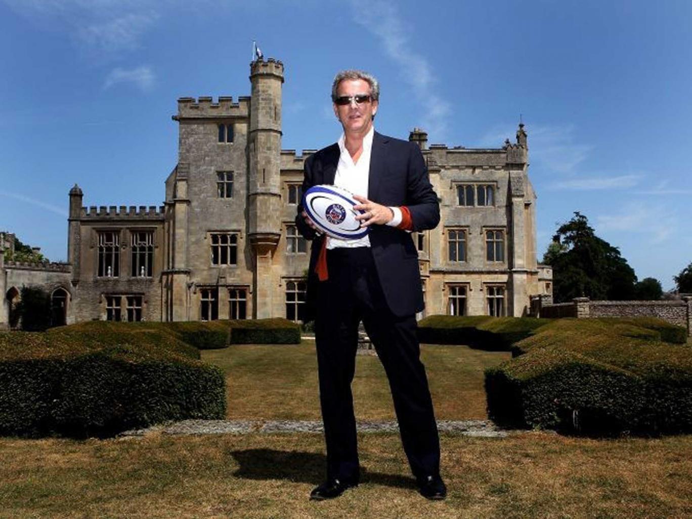 Tough talker: Bath's Bruce Craig