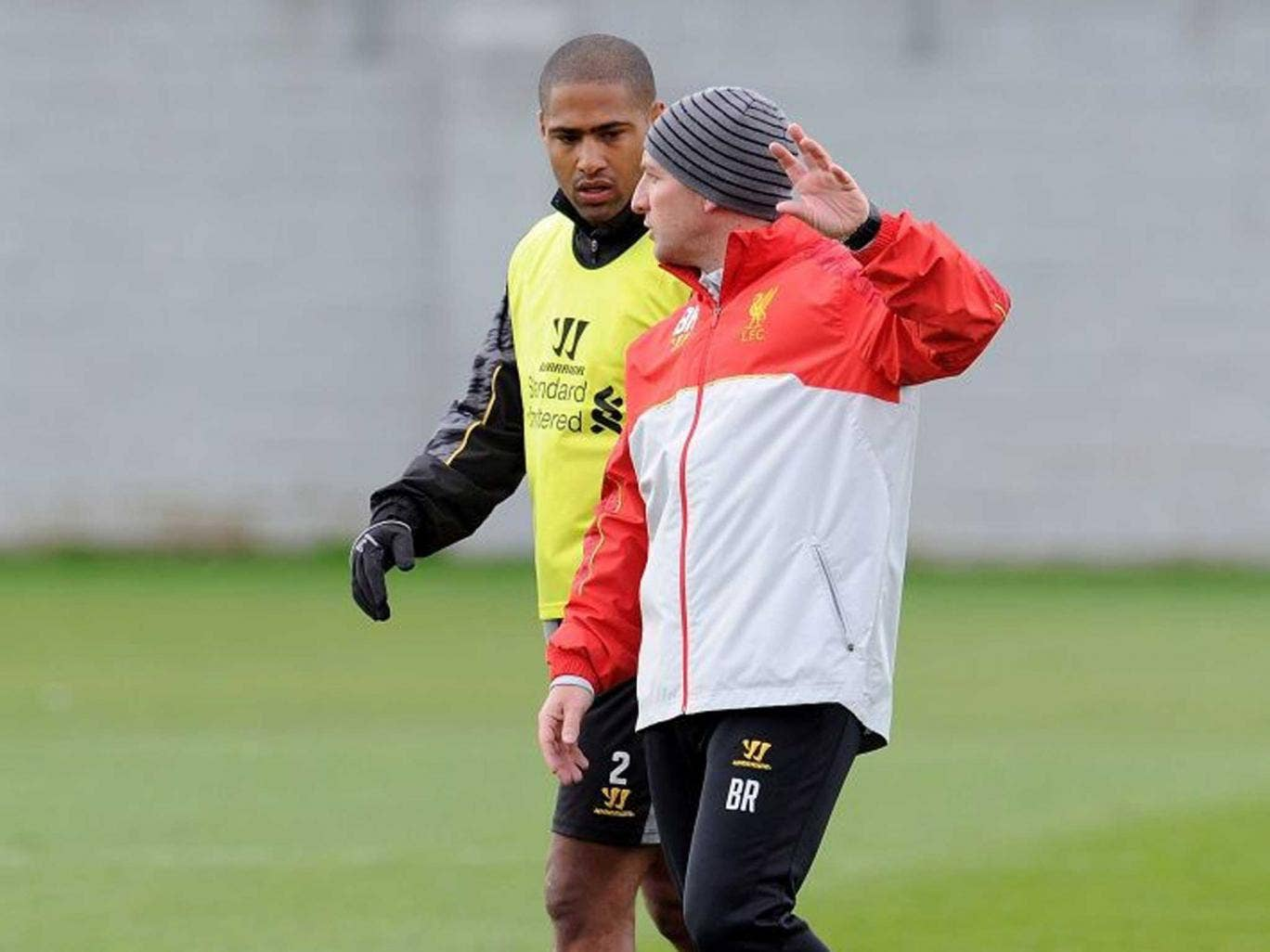 Red hot: Glen Johnson on Brendan Rodgers: 'We were as close at Chelsea as we are now at Liverpool'