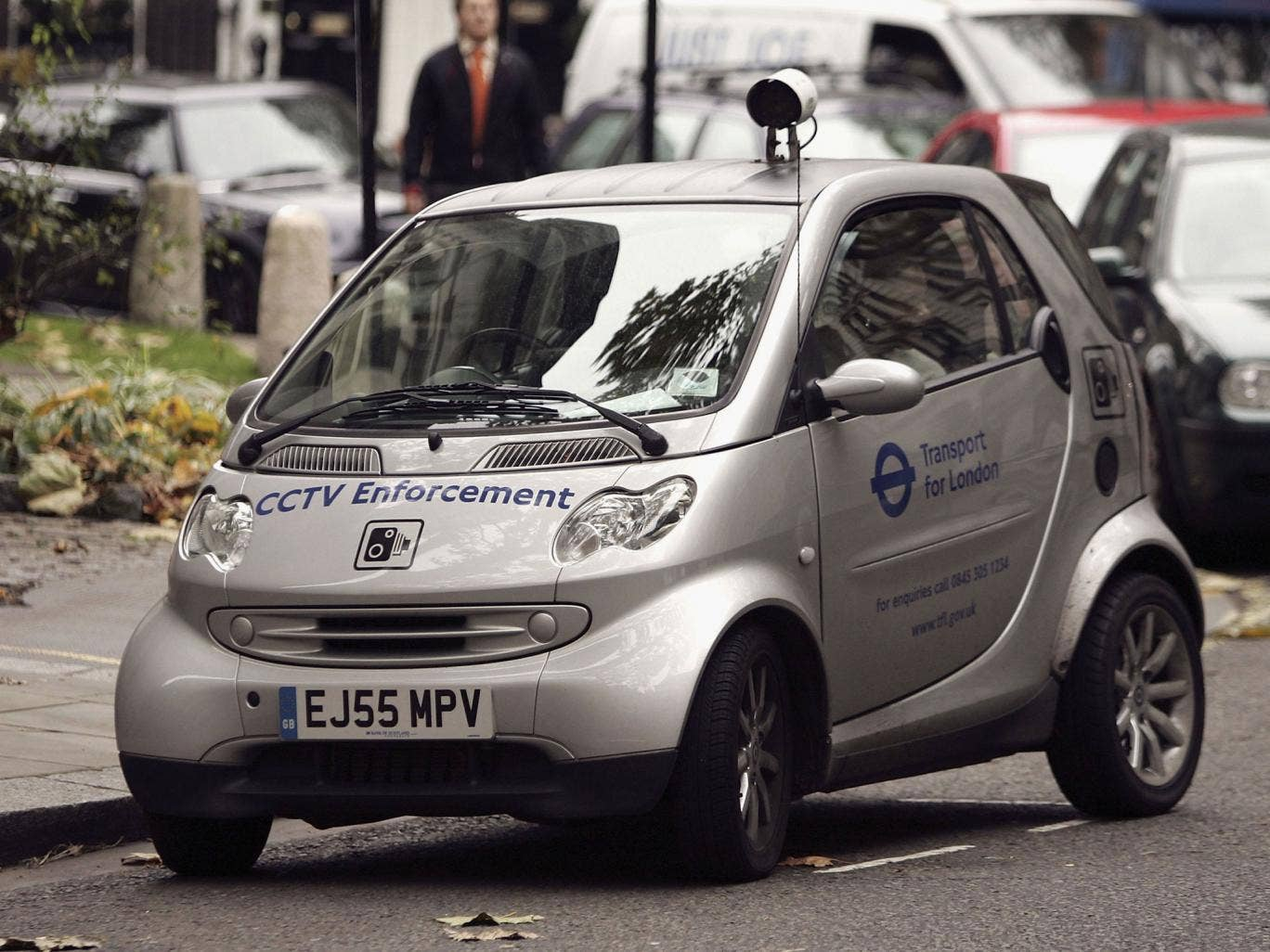 At least 58 local authorities are using CCTV camera cars – an 87 percent increase since 2009