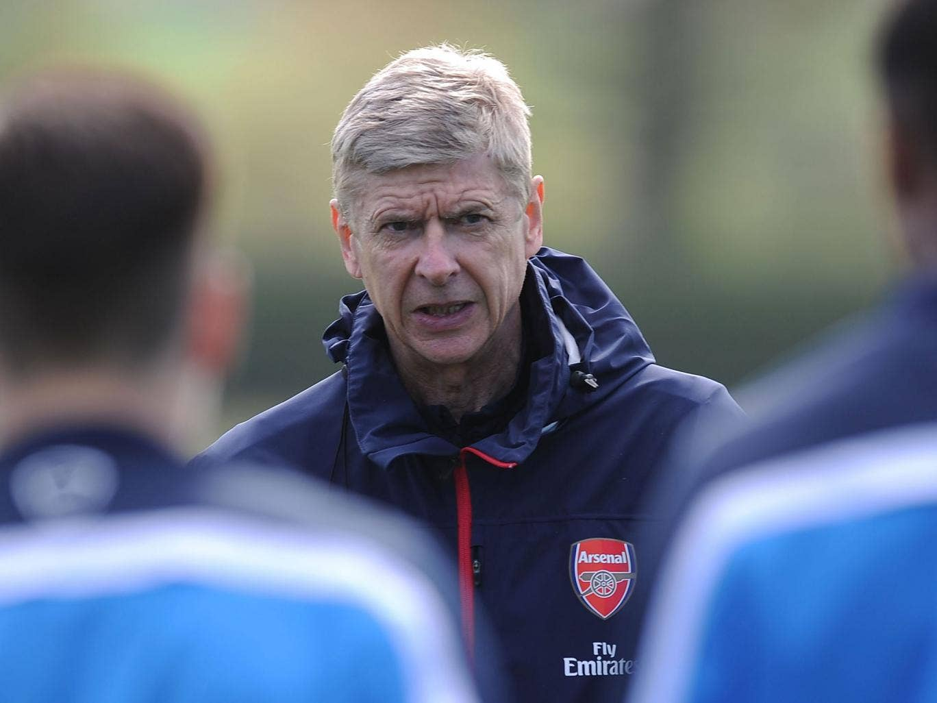 Wenger has been criticised during the Gunners' nine-year trophy drought