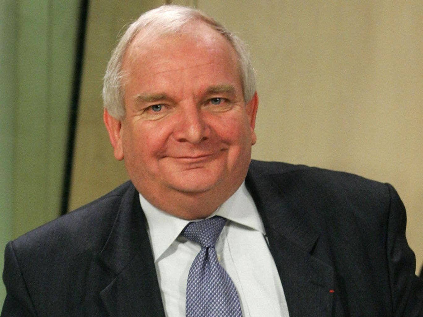 French MEP Joseph Daul prepares to give a press conference, 10 January 2007, at the EU Commission's Headquarters in Brussels after been selected new chairman of the centre-right EPP-ED in the European Parliament. Daul, of the French UMP party, was one of
