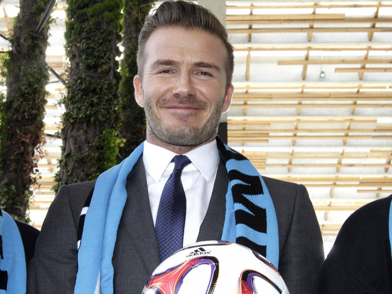 David Beckham is planning to build a stadium in Miami's port for a new football team he will own