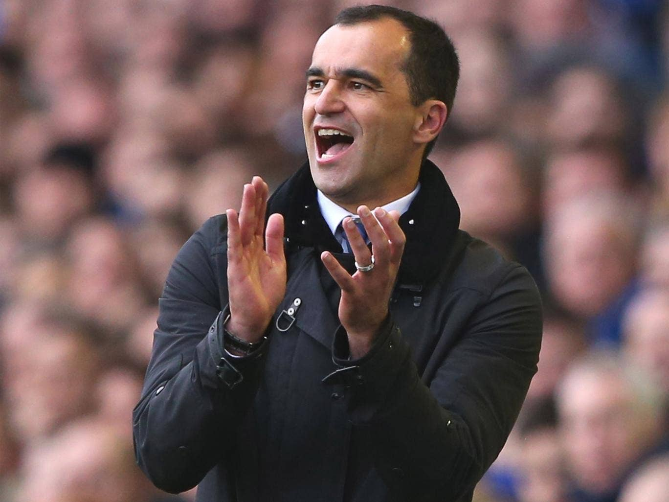 Everton have a record points tally under Roberto Martinez