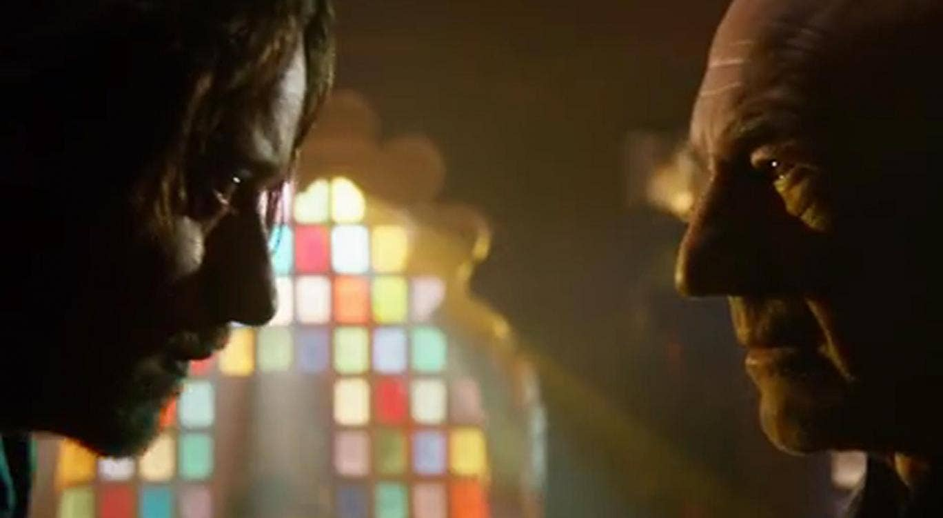 James McAvoy and Patrick X Men Pyro Vs Iceman