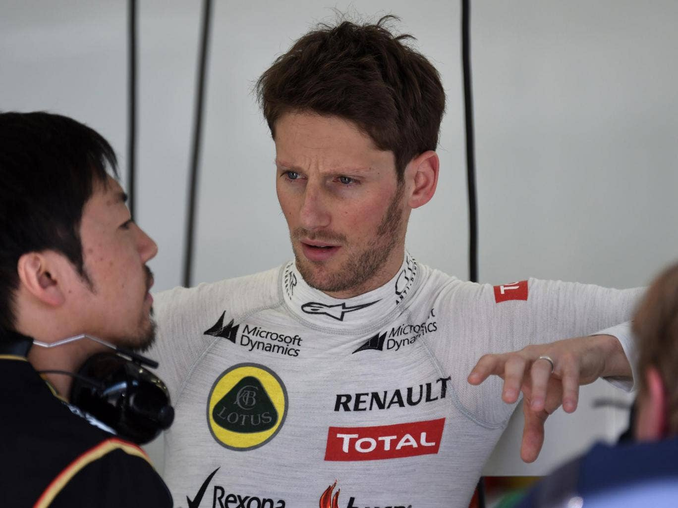 Romain Grosjean has revealed that he has been paid the money owed to him from the back-end of last season by team Lotus