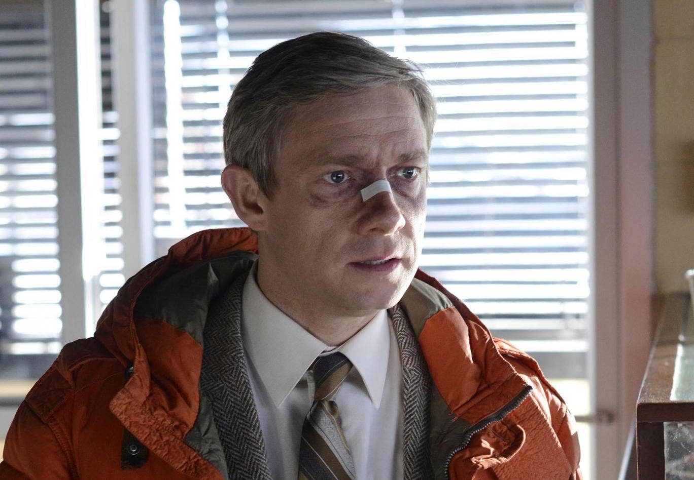Martin Freeman as Lester Nygaard in the TV adaptation of 'Fargo'
