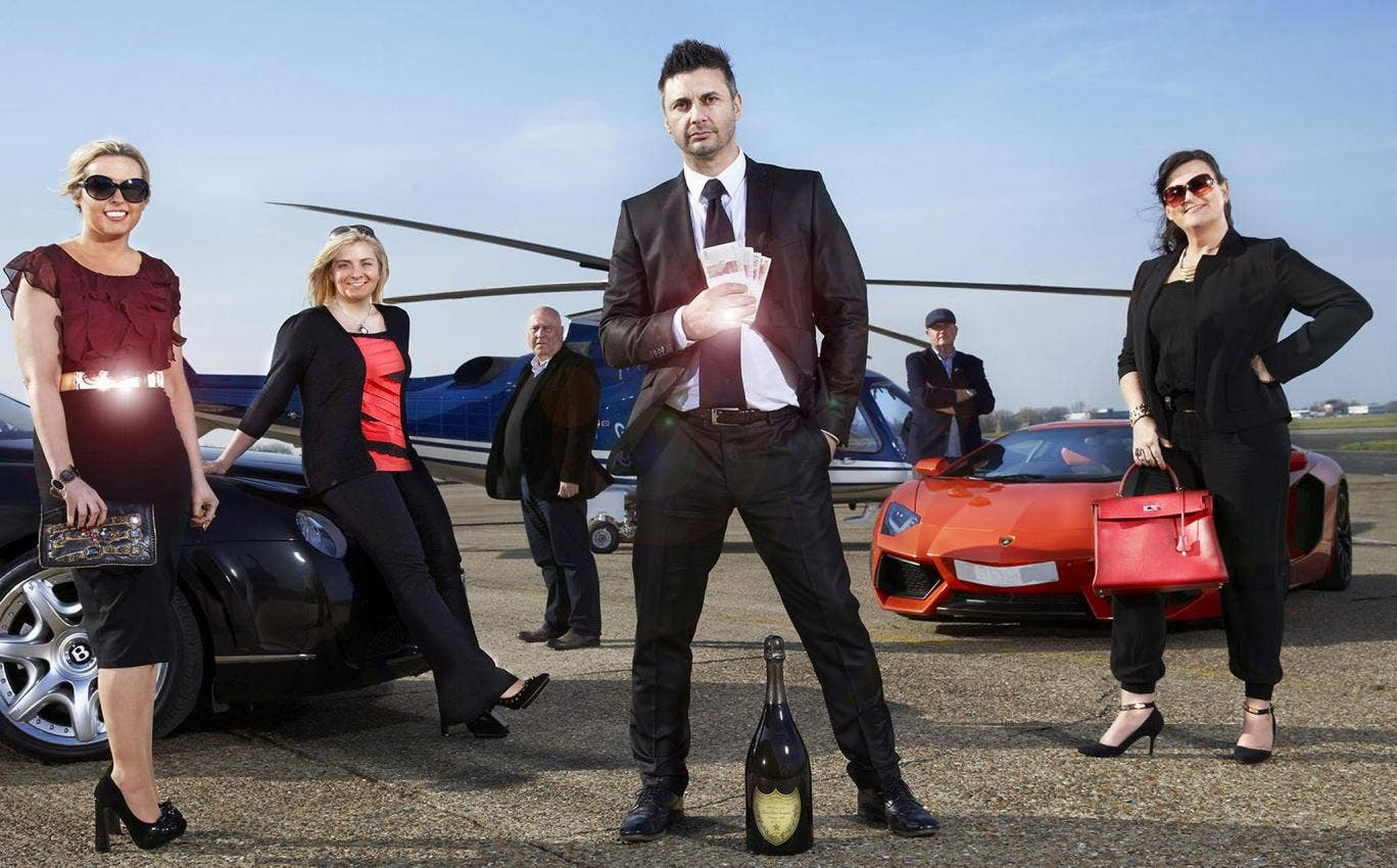 A materialist world: James Constantino features in 'Posh Pawn'
