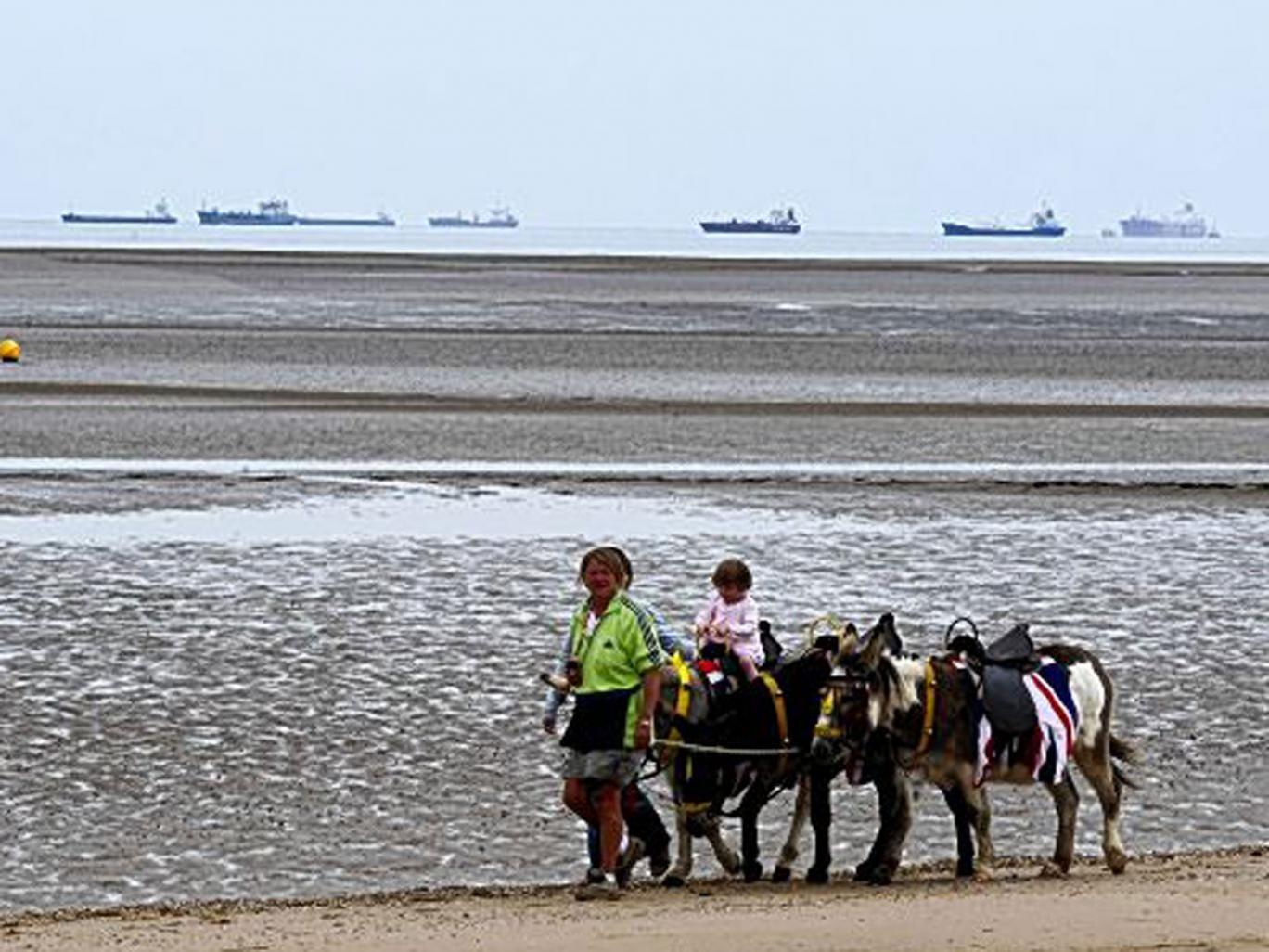 Water works: Cleethorpes Beach