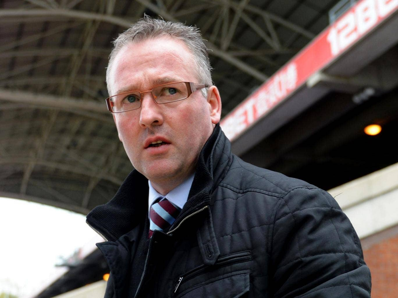 Paul Lambert admitted a win tomorrow would not make up for the upheaval at Villa this week