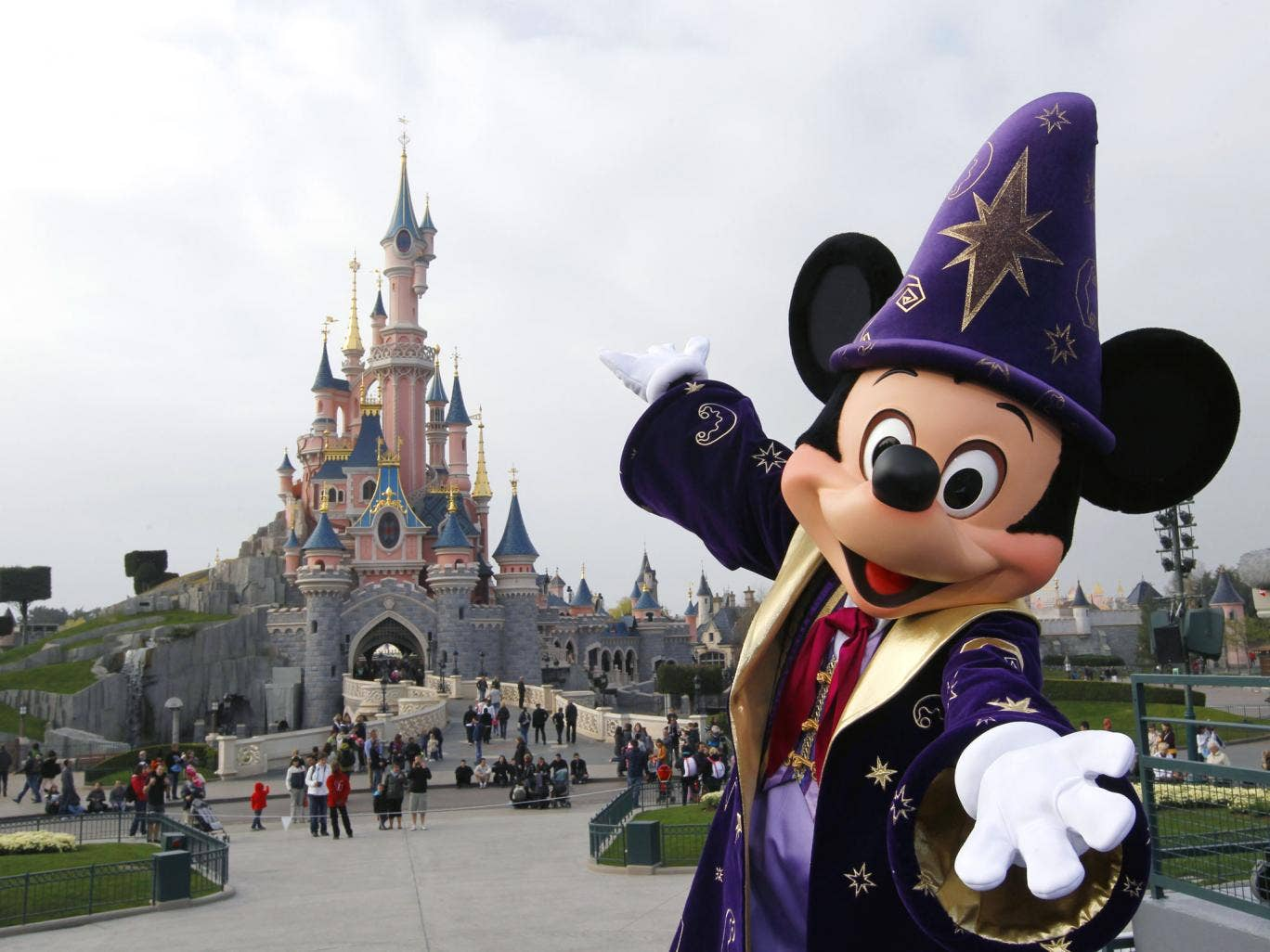 Euro Disney has seen its shares fall by 15 per cent