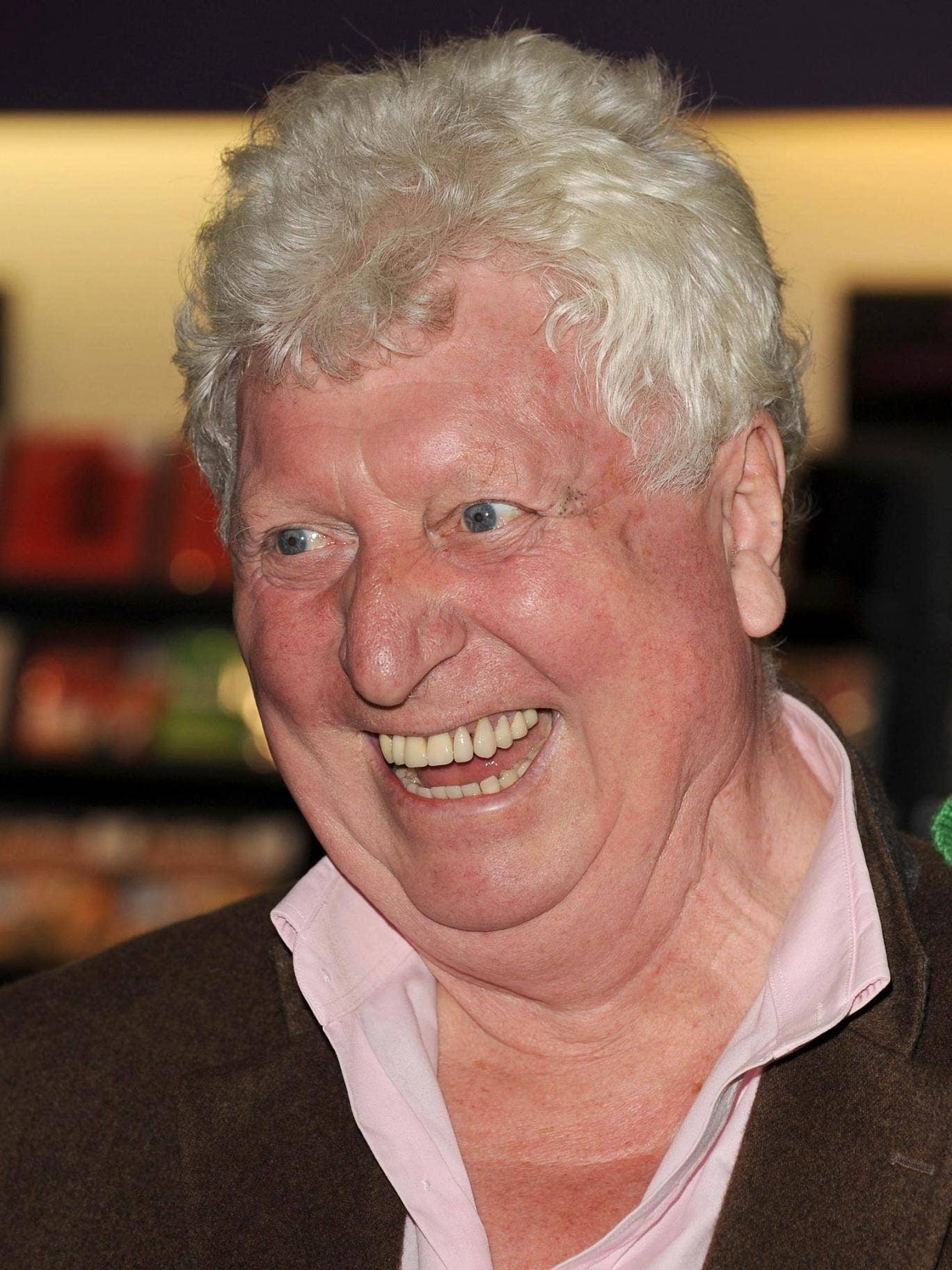 Tom Baker who played the Doctor longer than any other actor
