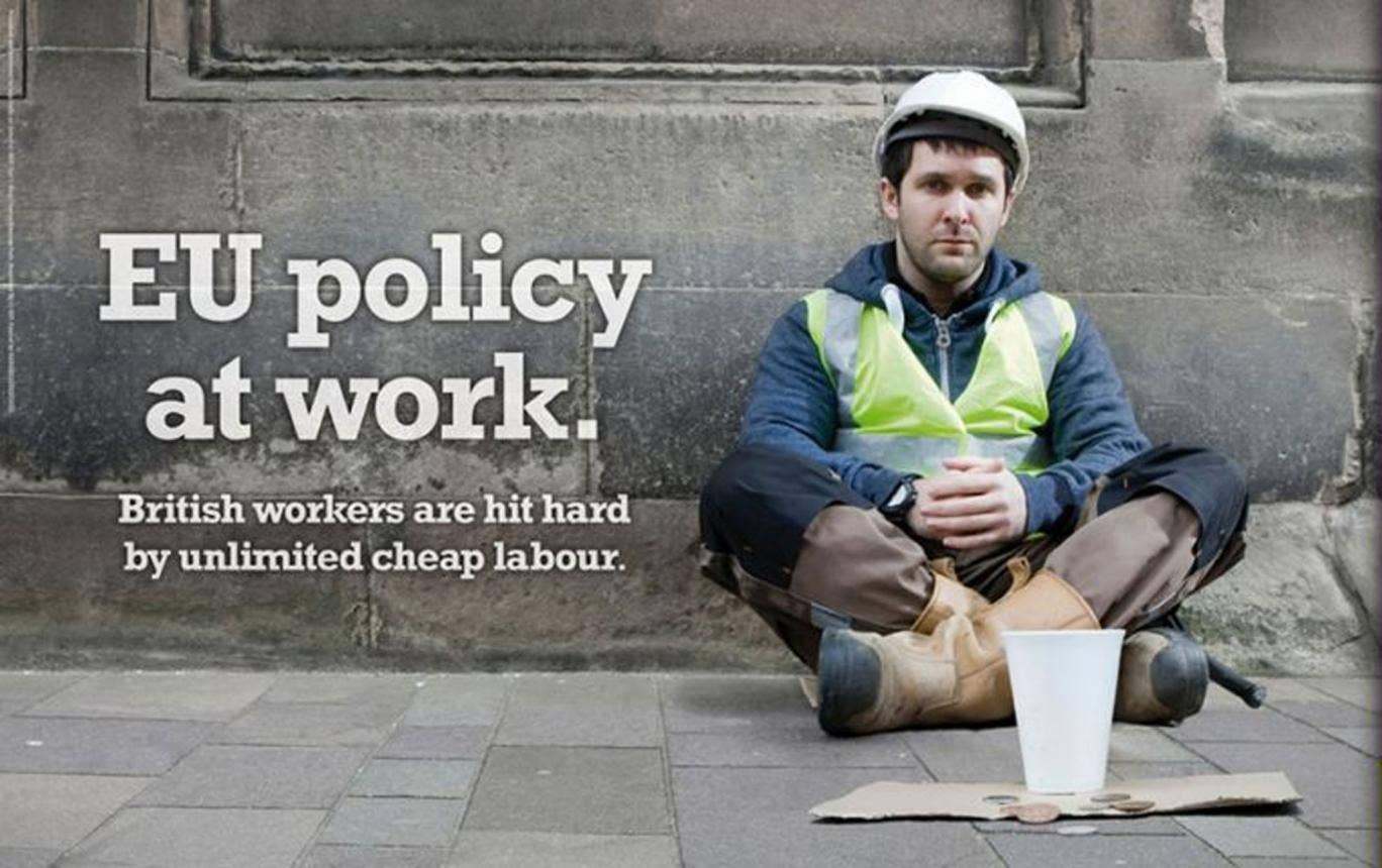 The Ukip campaign for British jobs