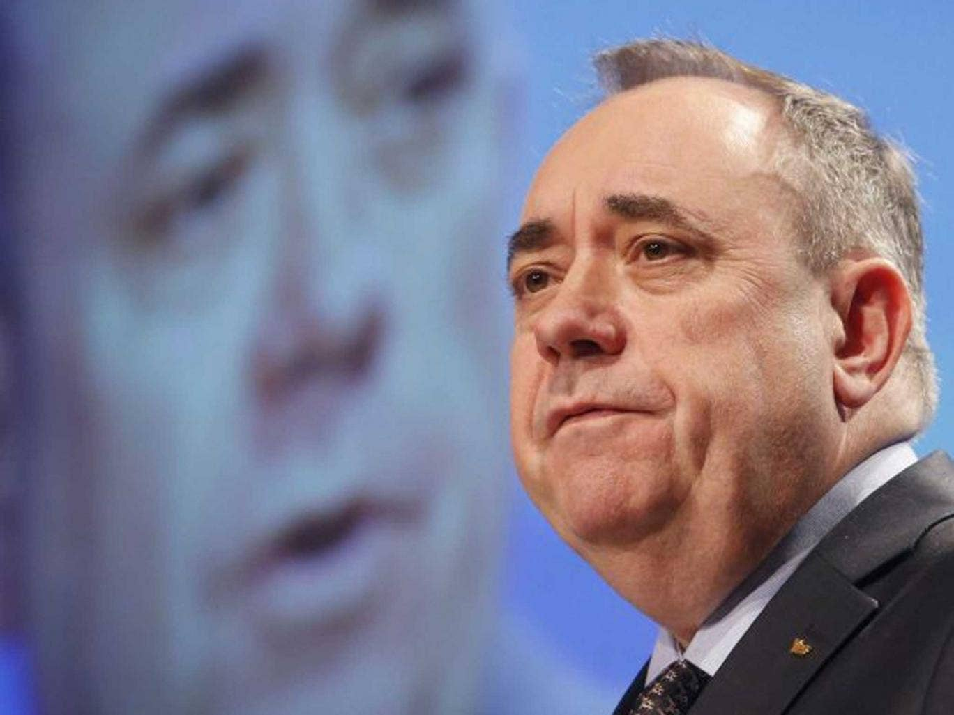 No political games: Alex Salmond, champion of the Scottish independence referendum