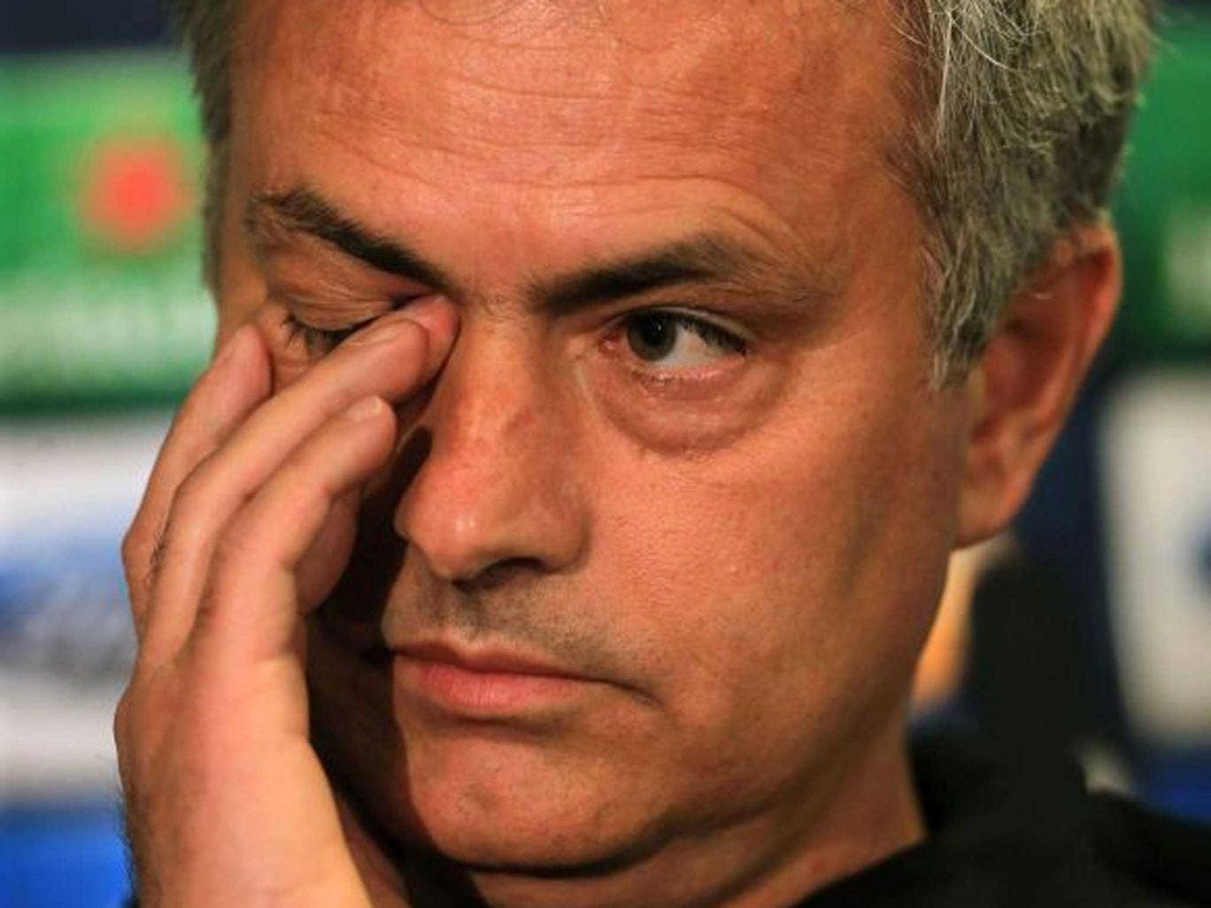 What a winker: There is no nobility in Jose Mourinho's tiresome posturing