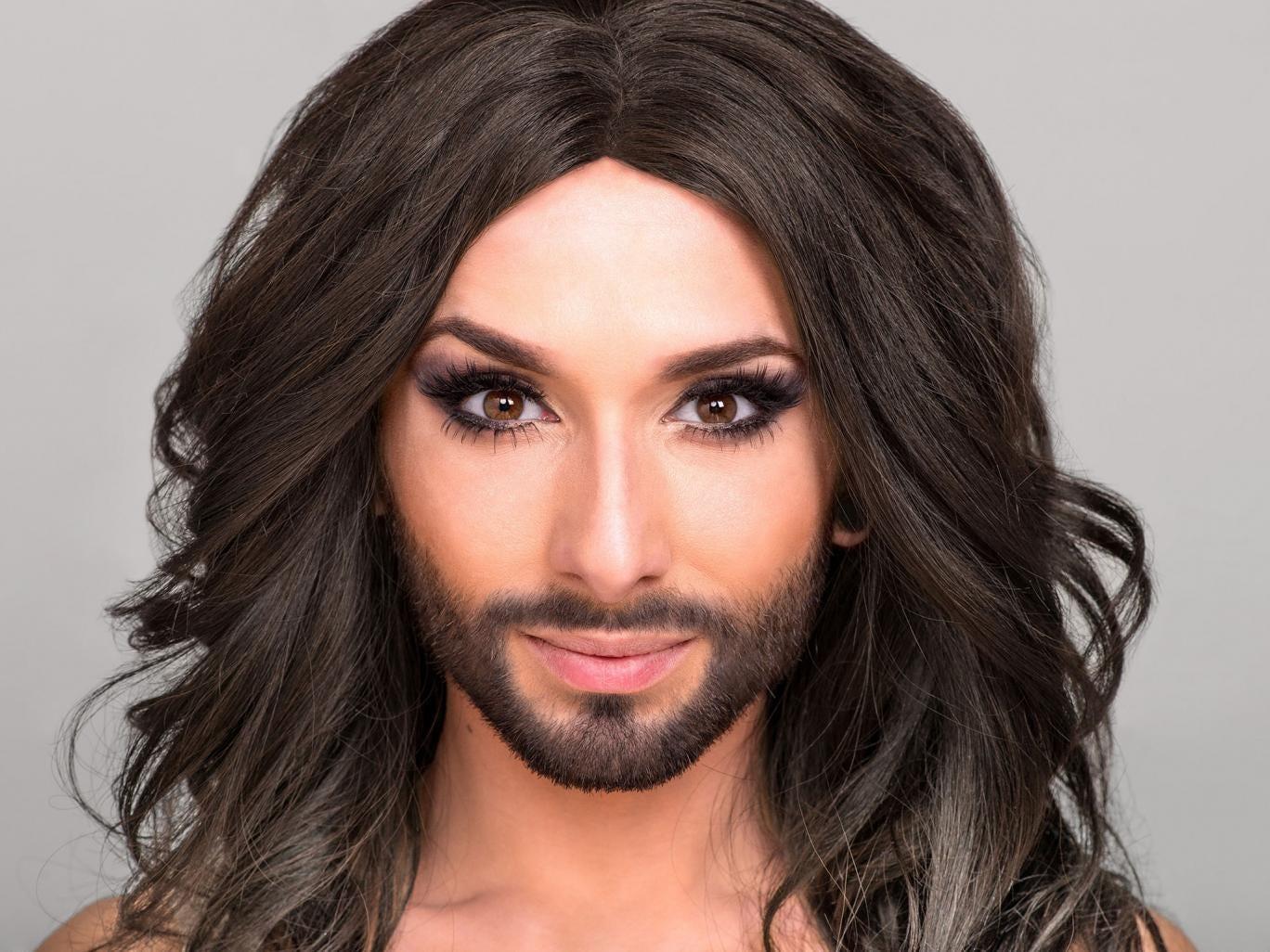 Conchita Wurst is Austria's entry for Eurovision 2014