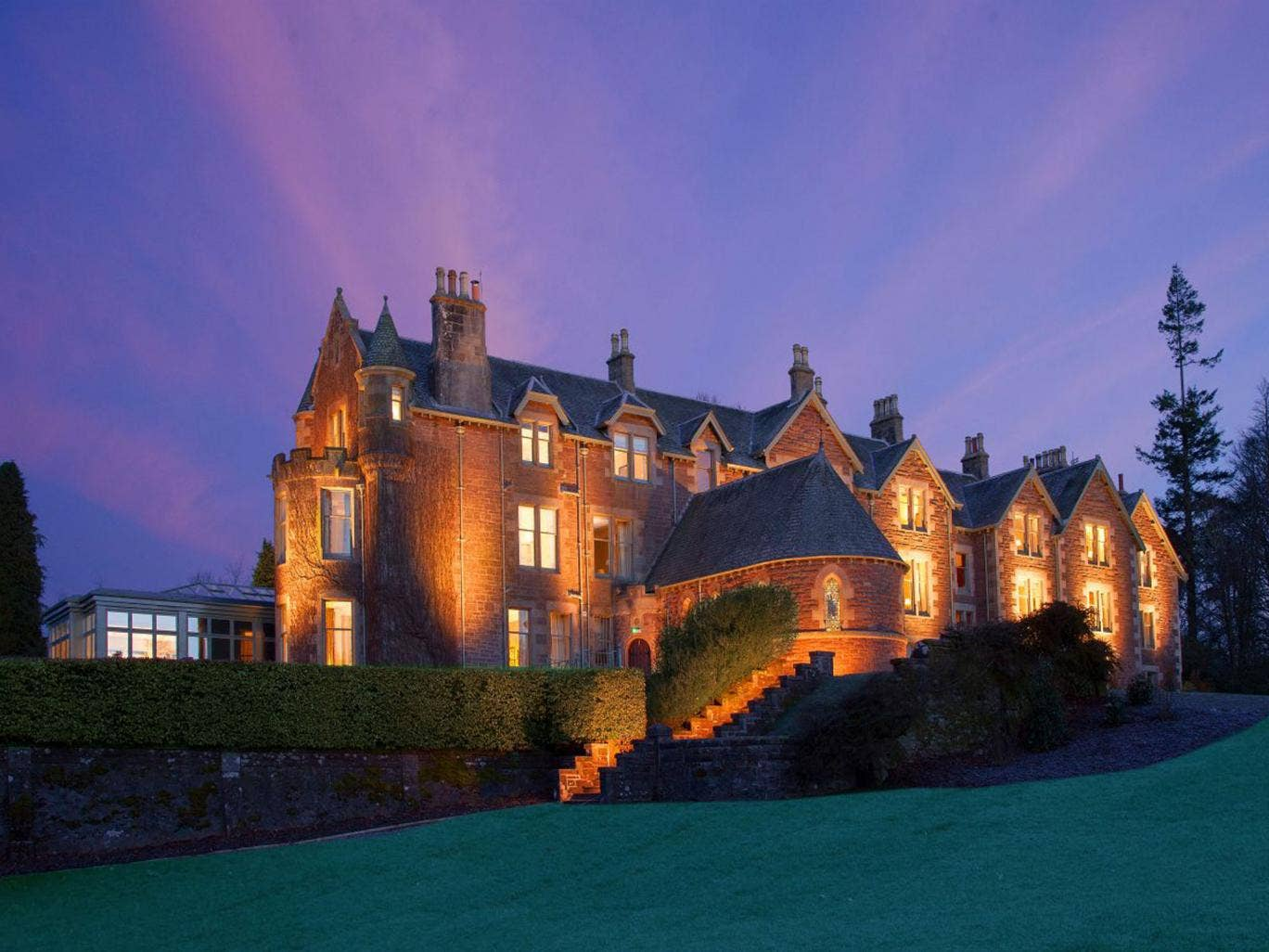Andy Murray's Cromlix House Hotel in Kinbuck, Perthshire, has been crowned the Scottish Hotel of the Year