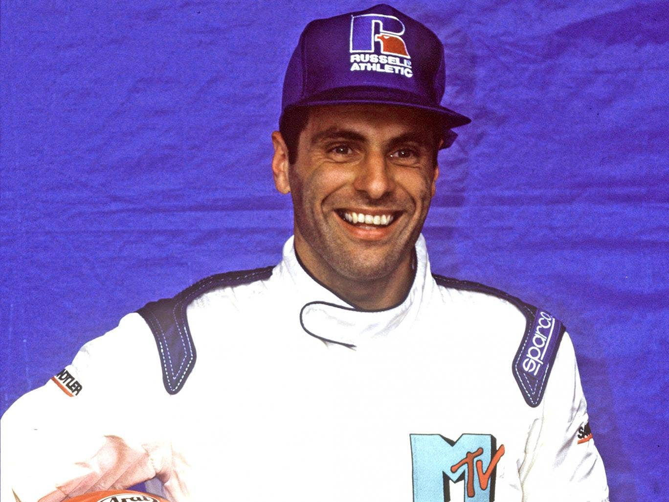 Roland Ratzenberger, two months before his death