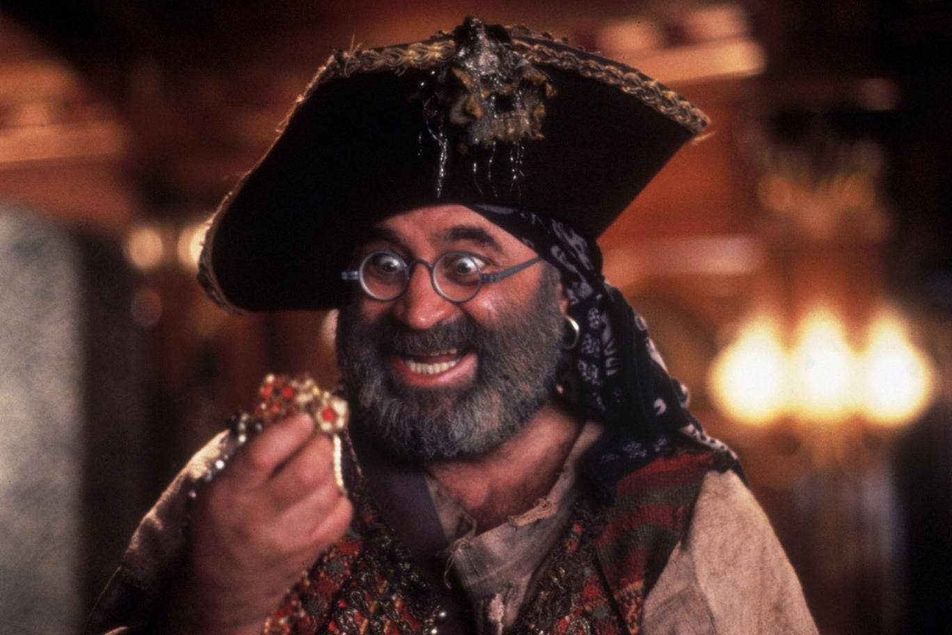 Bob Hoskins is remembered by many for his role as Captain Hook's sidekick Smee in 1991's Hook