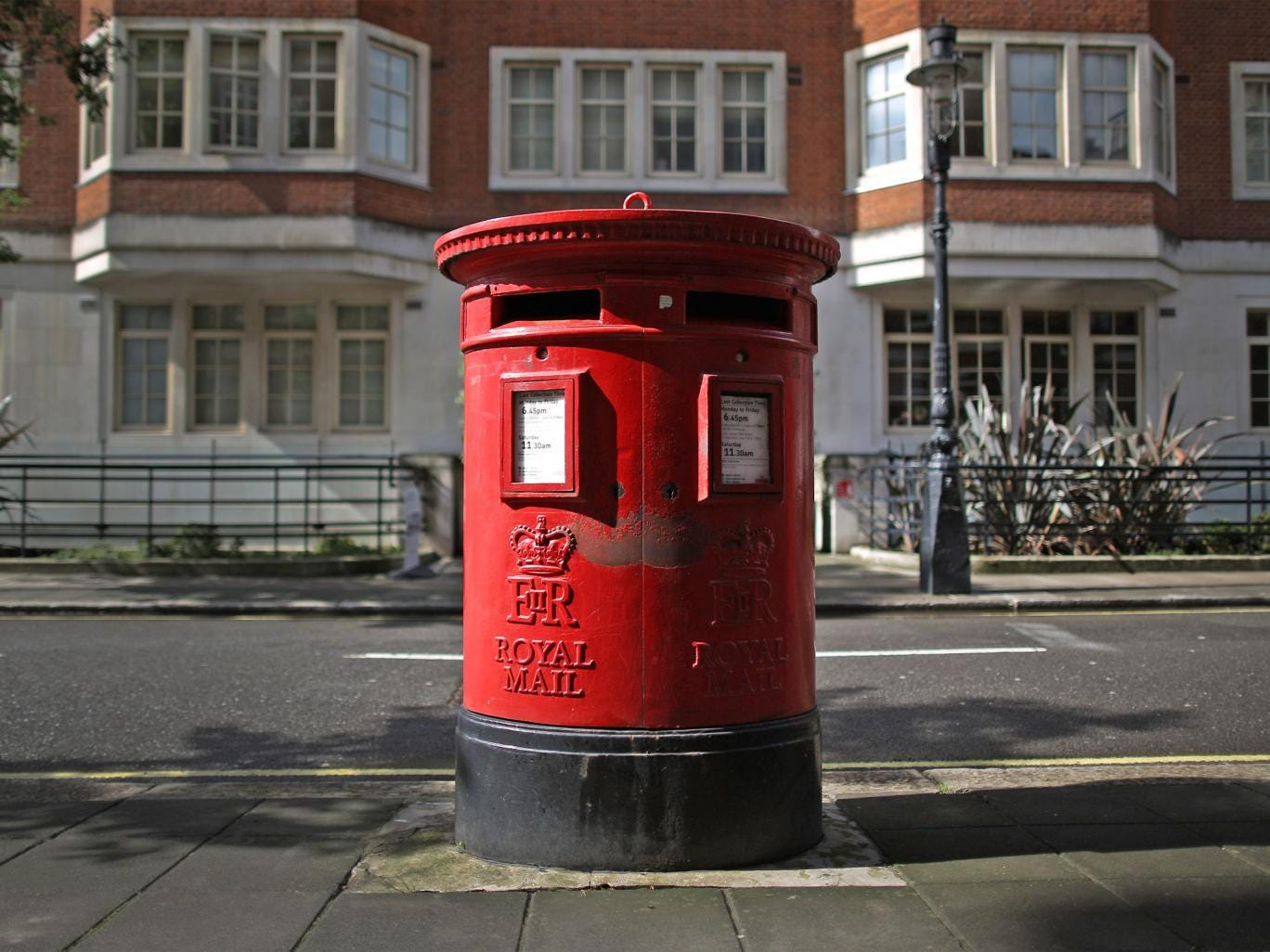 The Royal Mail was privatised last October