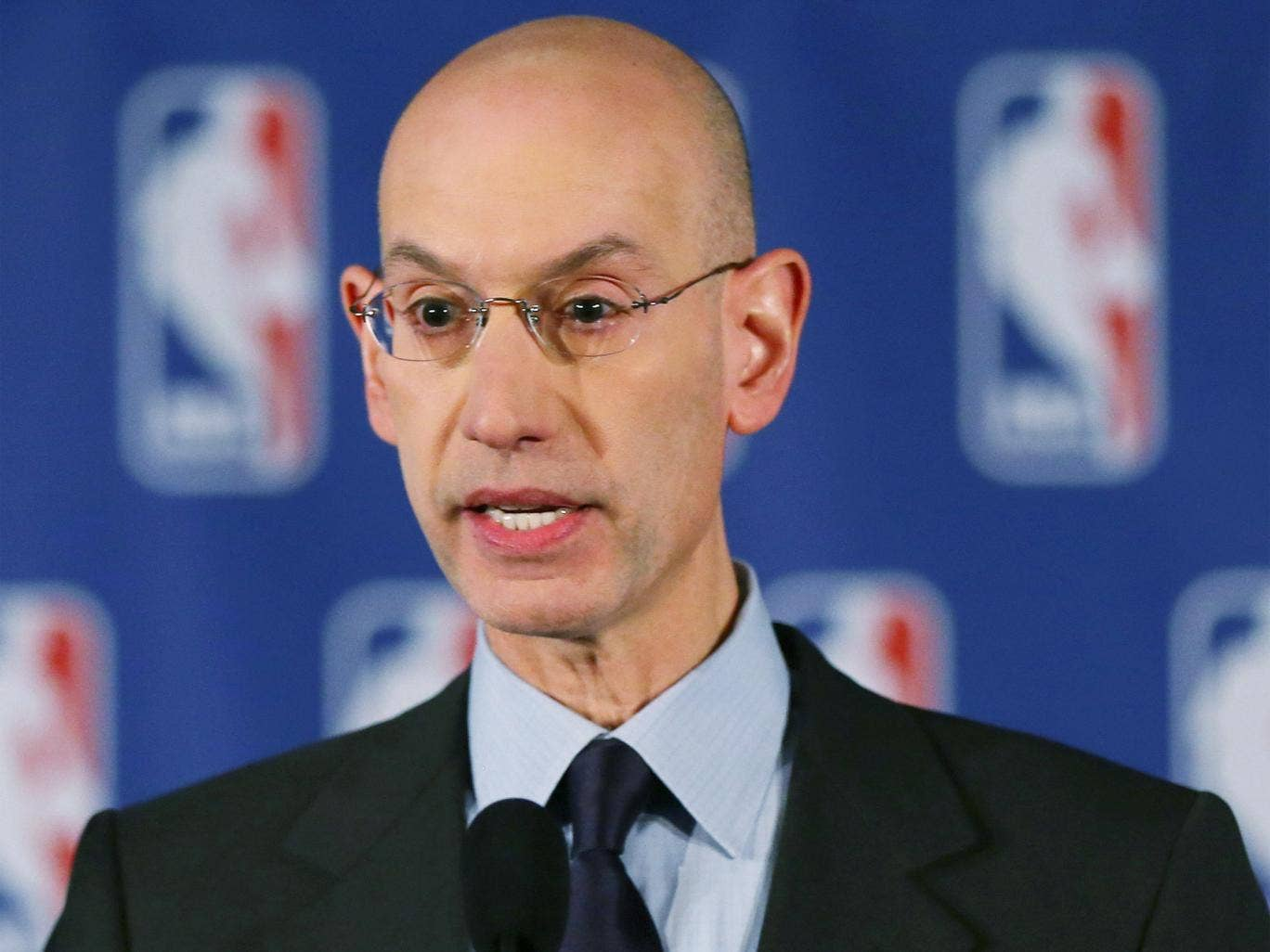Adam Silver has only been in his job since February but already he has taken decisive action on racism