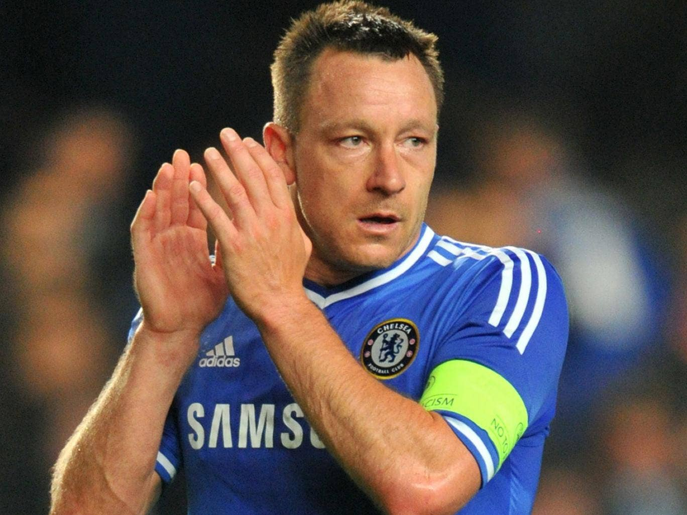 John Terry pictured after Chelsea's defeat to Atletico Madrid