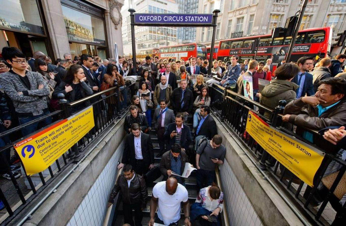 """Commuters using the Central Line could face """"severe disruption"""" on the London Underground (LU) tomorrow ahead of threatened strike action by train drivers."""