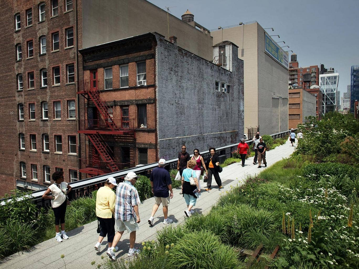 The project has been compared to New York's High Line