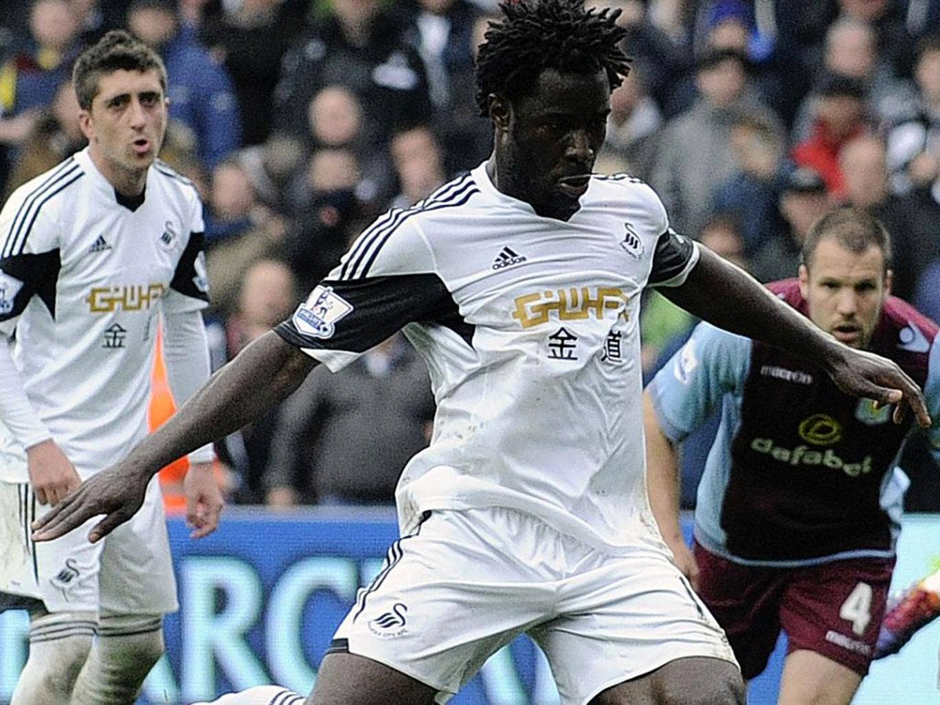 Wilfried Bony is a clear choice up front in my Premier League  line-up.