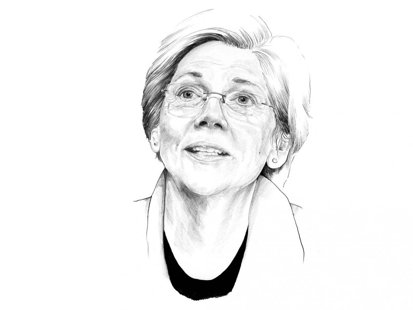 Elizabeth Warren, who launched her political career in 2012