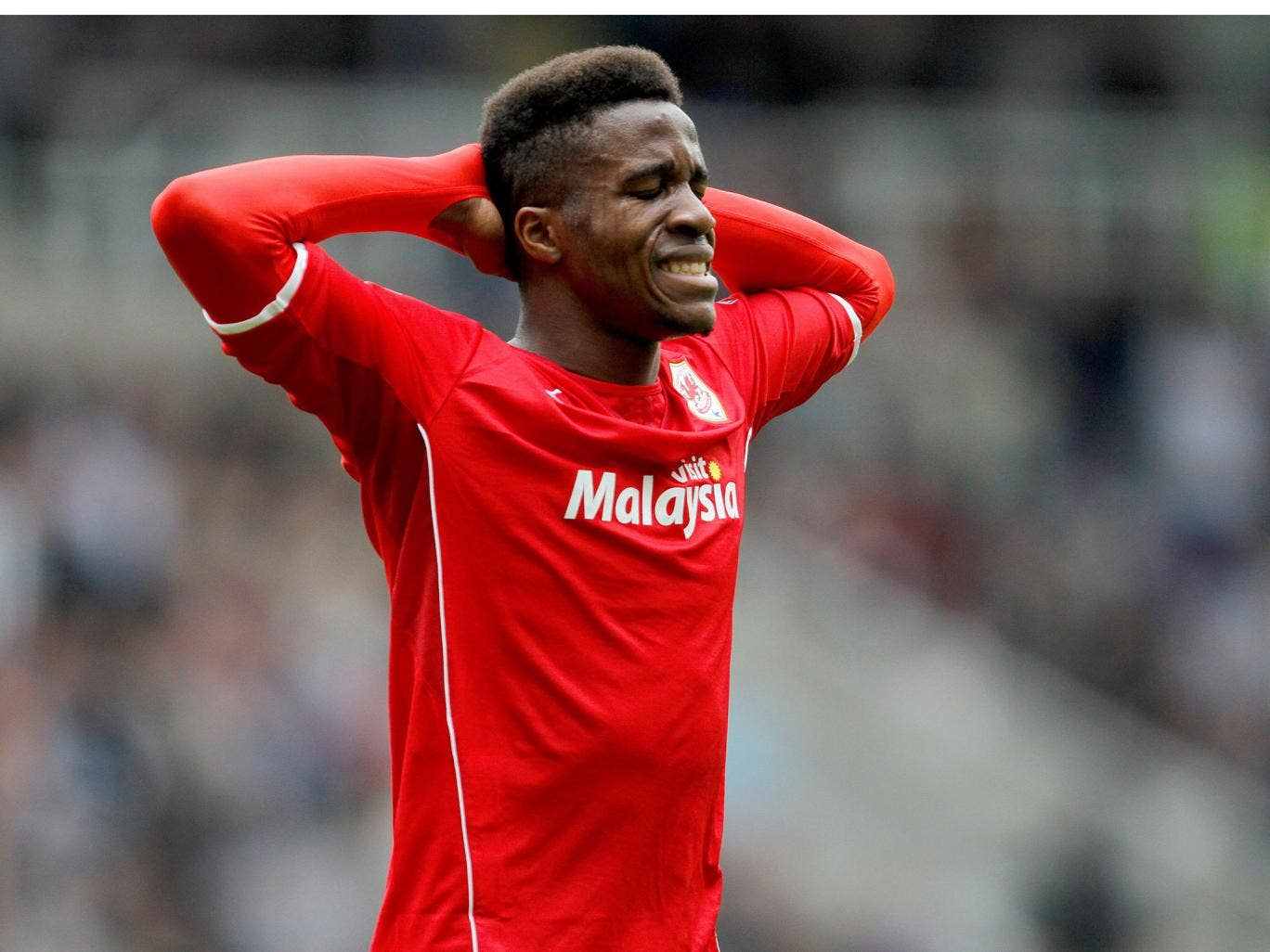 Wilfried Zaha reflects after Cardiff are relegated