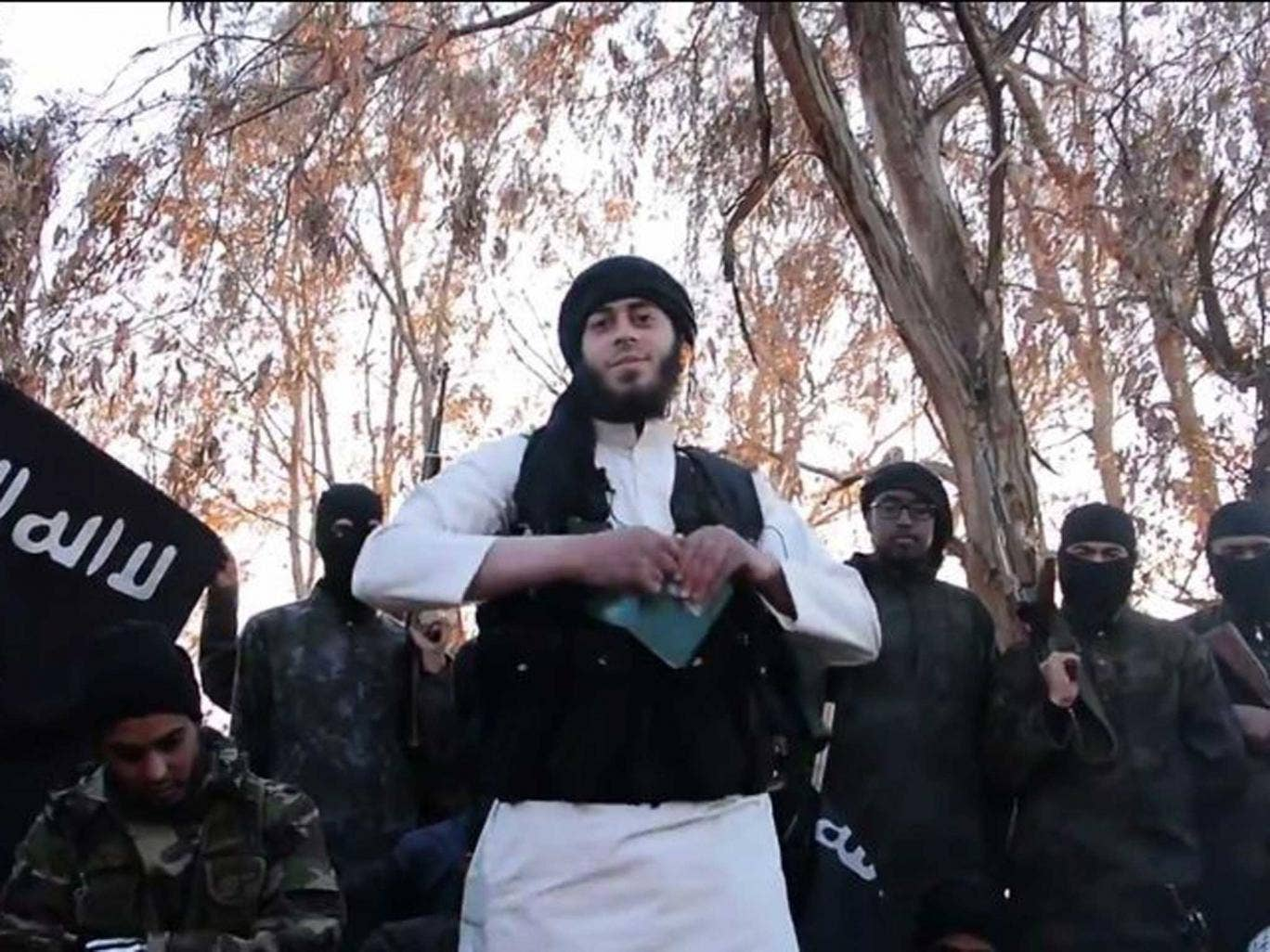 Burn notice: Jihadis destroy their passports in a video made by Isis, formerly al-Qa'ida in Iraq