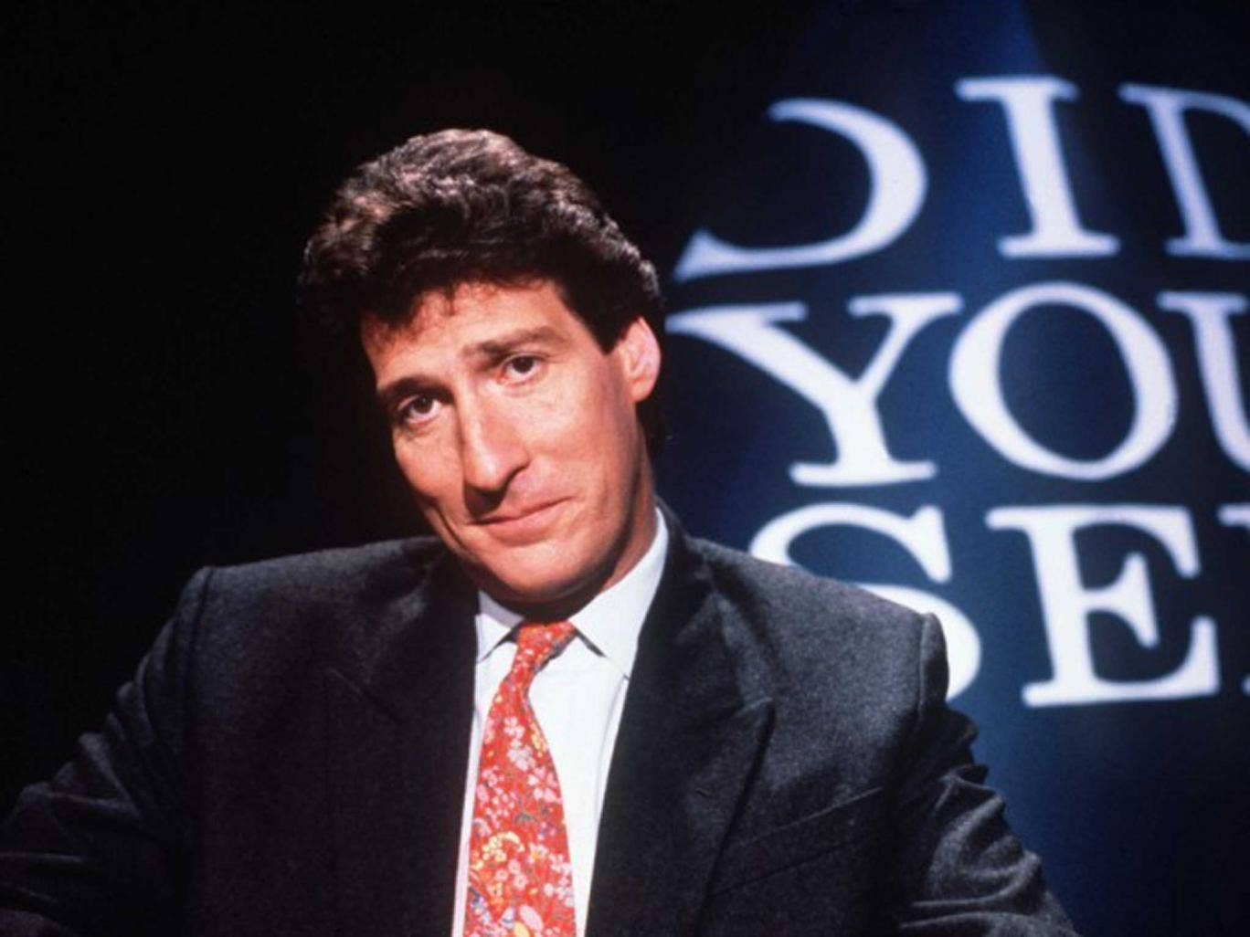 Come on: Paxman (seen here in 1993) has matured without turning to grandfatherly fustiness