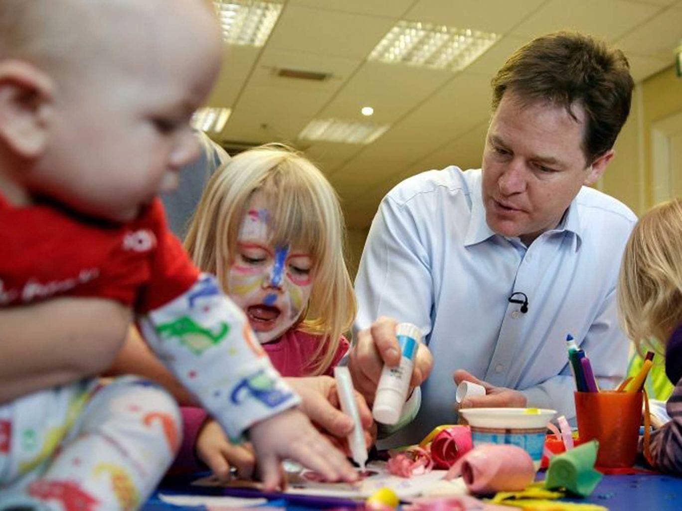 Nick Clegg: 'This is about choice and fairness'