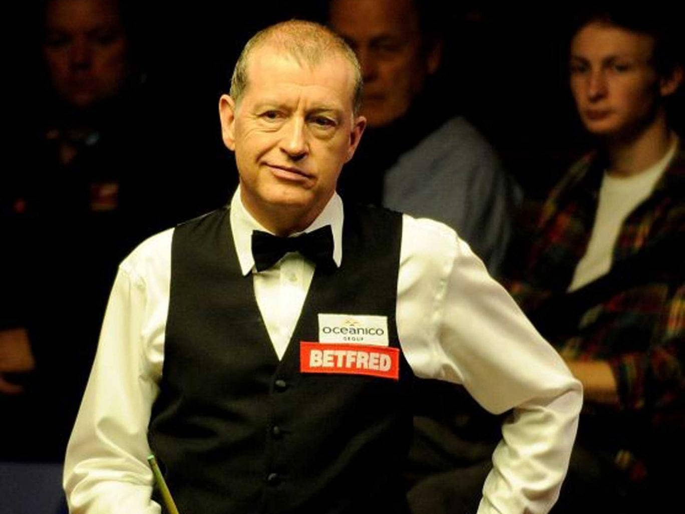 Steve Davis: 'The male has an obsessional type of brain that I don't think so many females have'