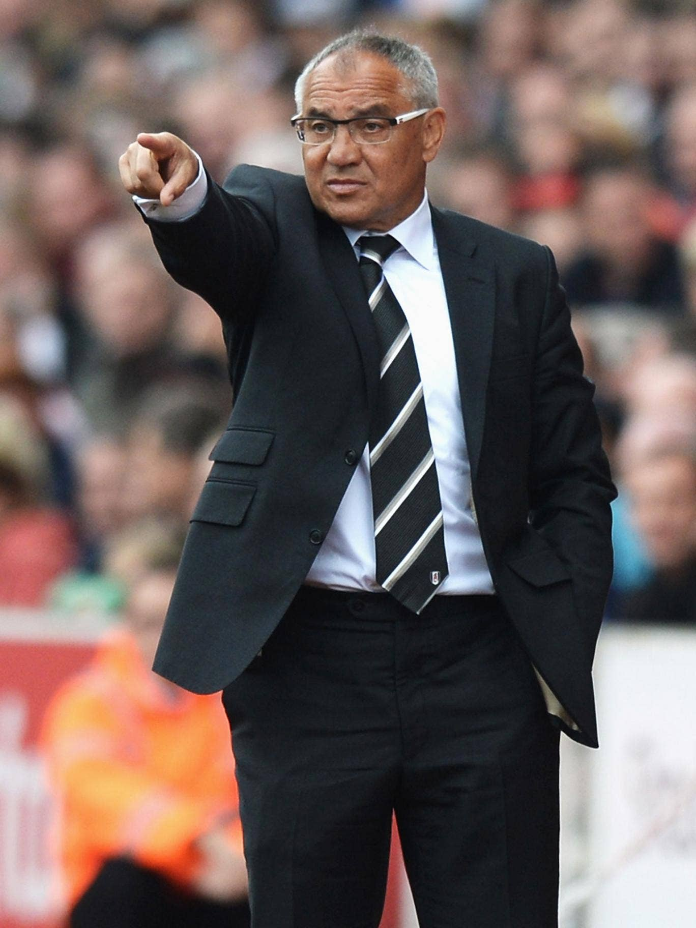 Felix Magath wants to bring youth players into the team