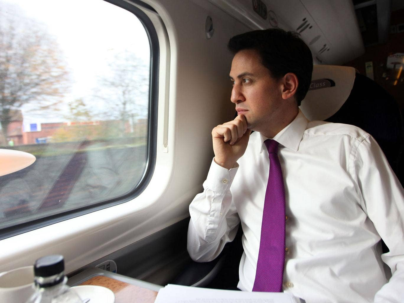 Although ruling out a 'big bang' renationalisation, Ed Miliband said parts of the network could return to public ownership