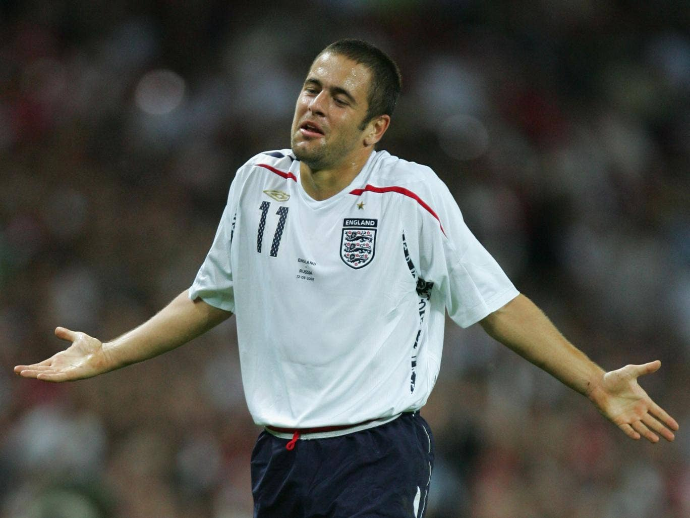 Joe Cole has made 56 England appearances and is one of 11 players from his country to have featured at three World Cups