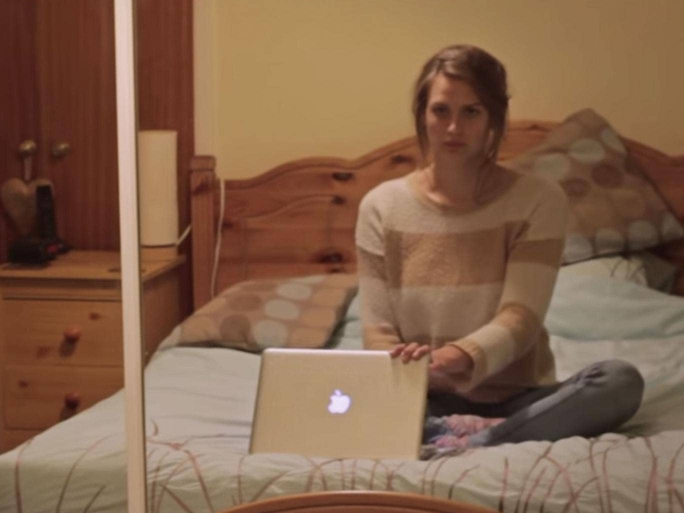 Gary Turk's short film 'Look Up' has proved hugely popular among social media users - despite the irony involved
