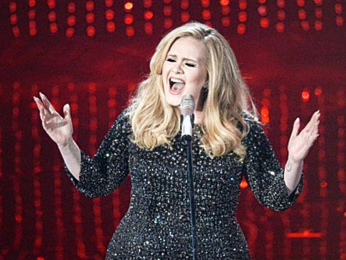 Digging deep: Adele