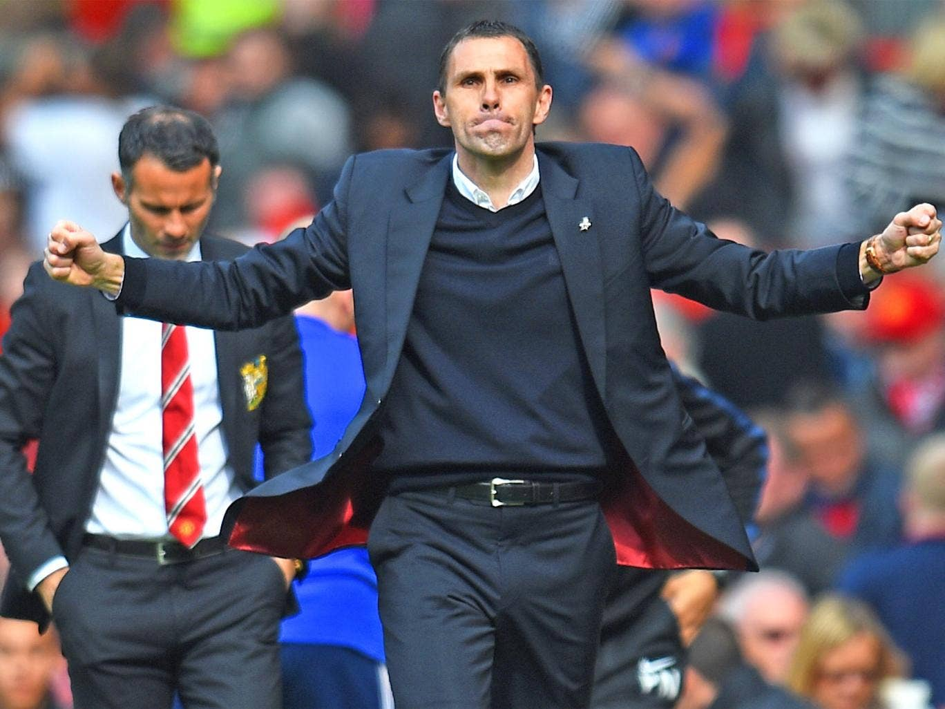 Guy Poyet needs just a point tonight to stay up
