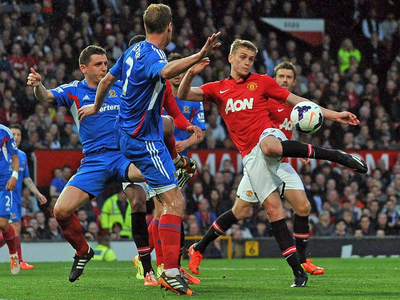James Wilson displayed predatory instinct to give United the lead