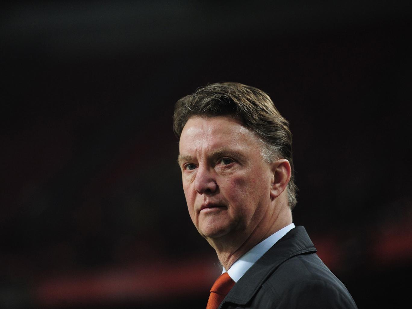 Louis van Gaal is set to become United's boss