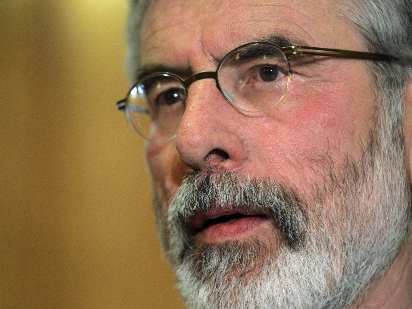 Gerry Adams has welcomed the discovery and called for anyone with information on the Disappeared to inform authorities