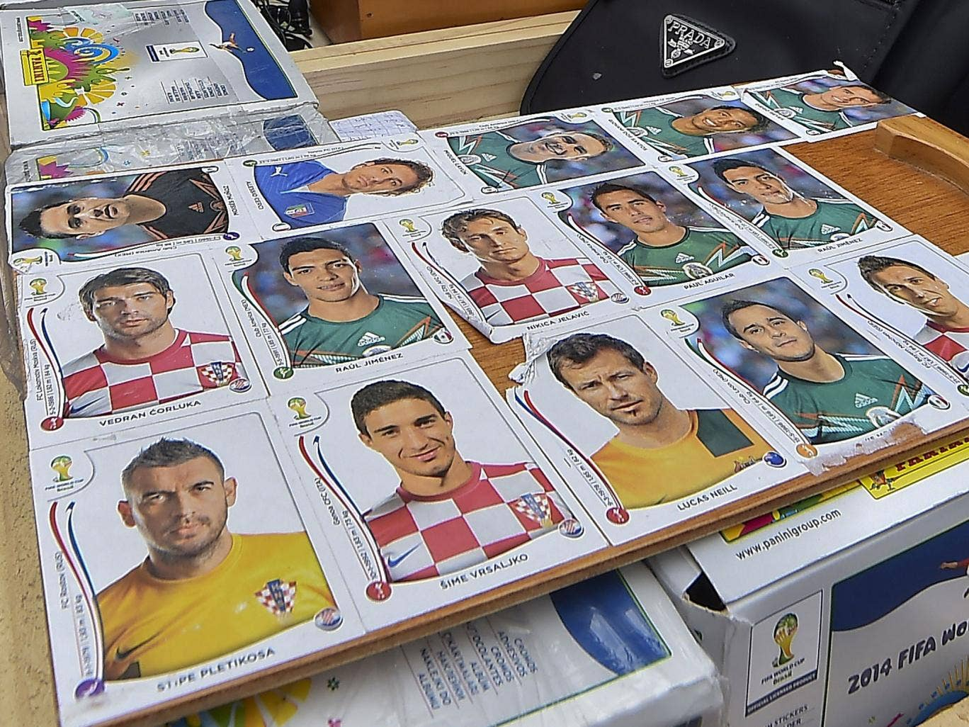 Teacher accused of stealing his pupil's World Cup stickers