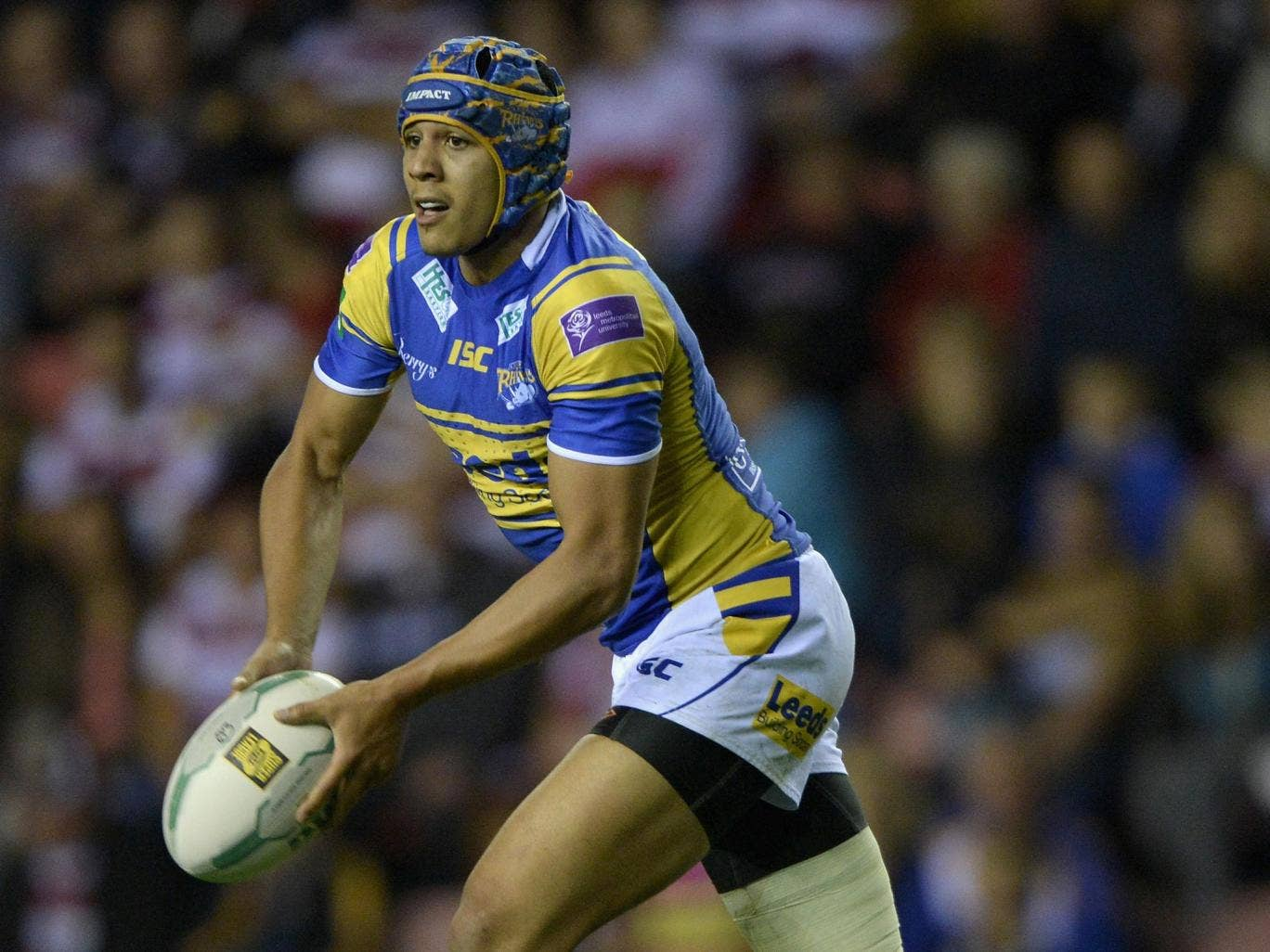 Leeds star Ben Jones-Bishop scored two tries in the win against Castleford to keep his side top