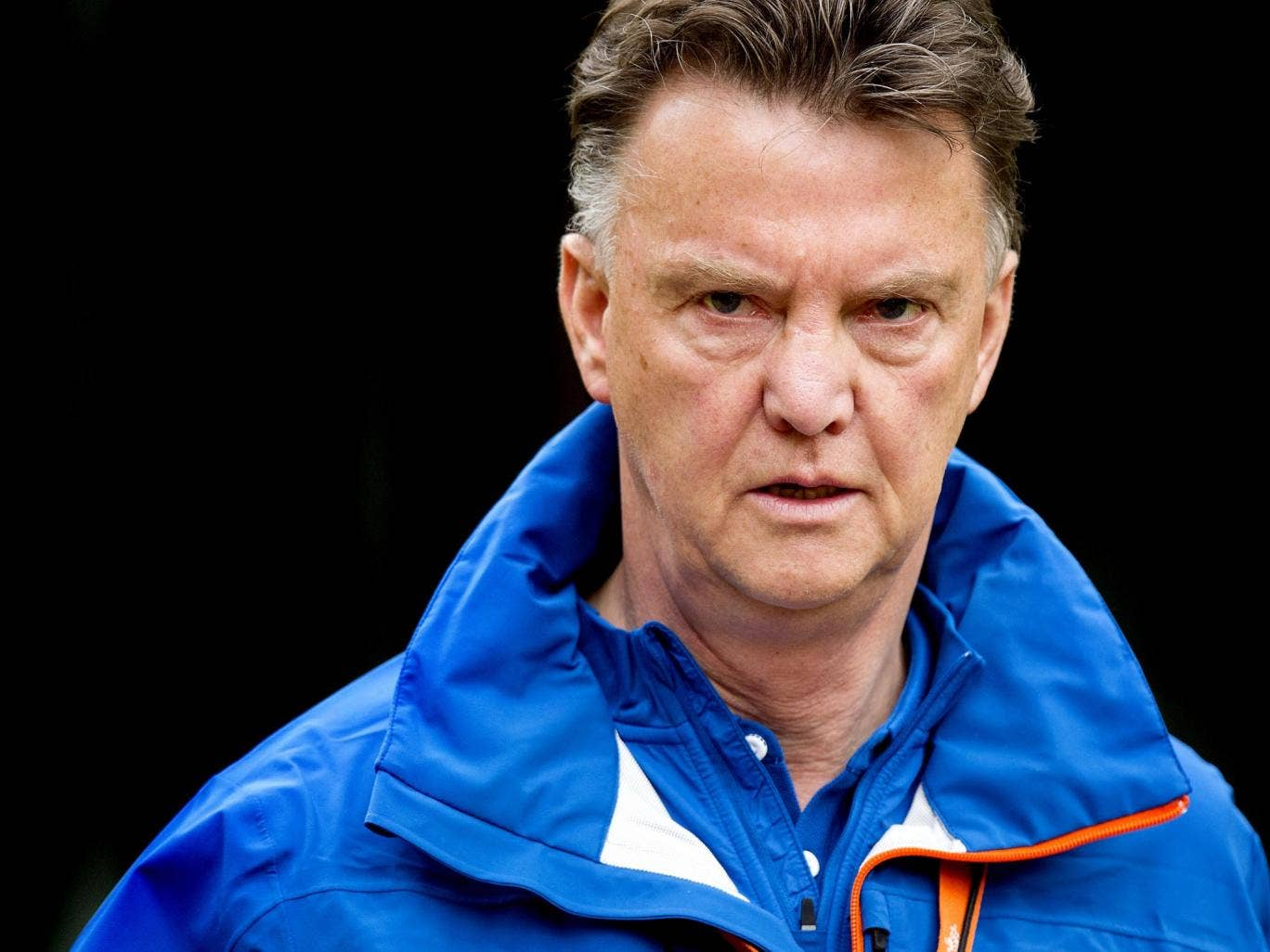 Van Gaal remains as serious as ever though, with his eye focused on his squad as they show their credentials ahead of his squad announcement