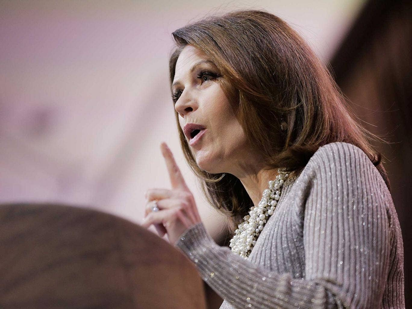 Final dregs: The ideals of Tea Partiers, such as Michelle Bachmann, have been adopted by more presentable  Republicans