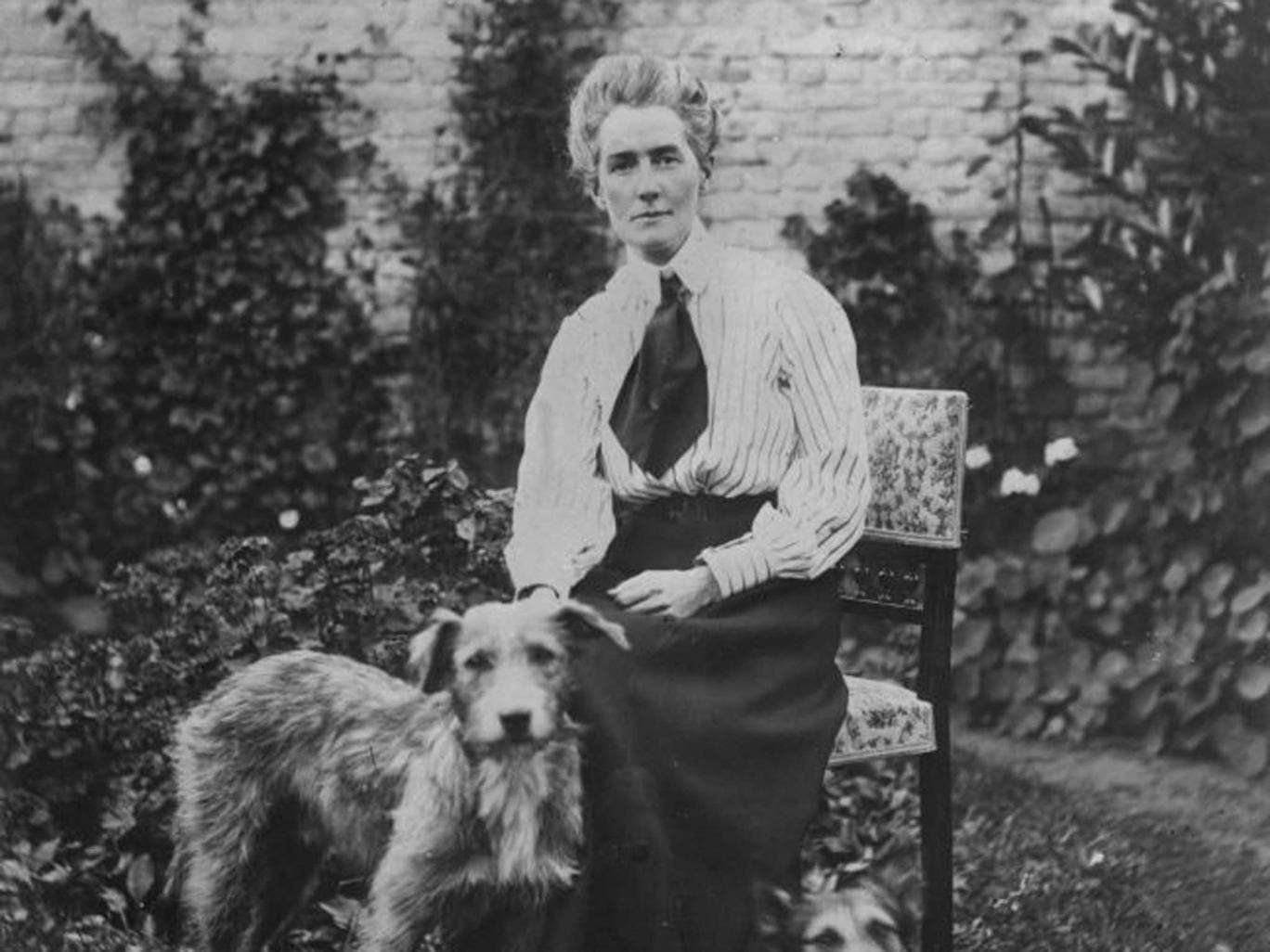 Laid to rest: Edith Cavell circa 1905
