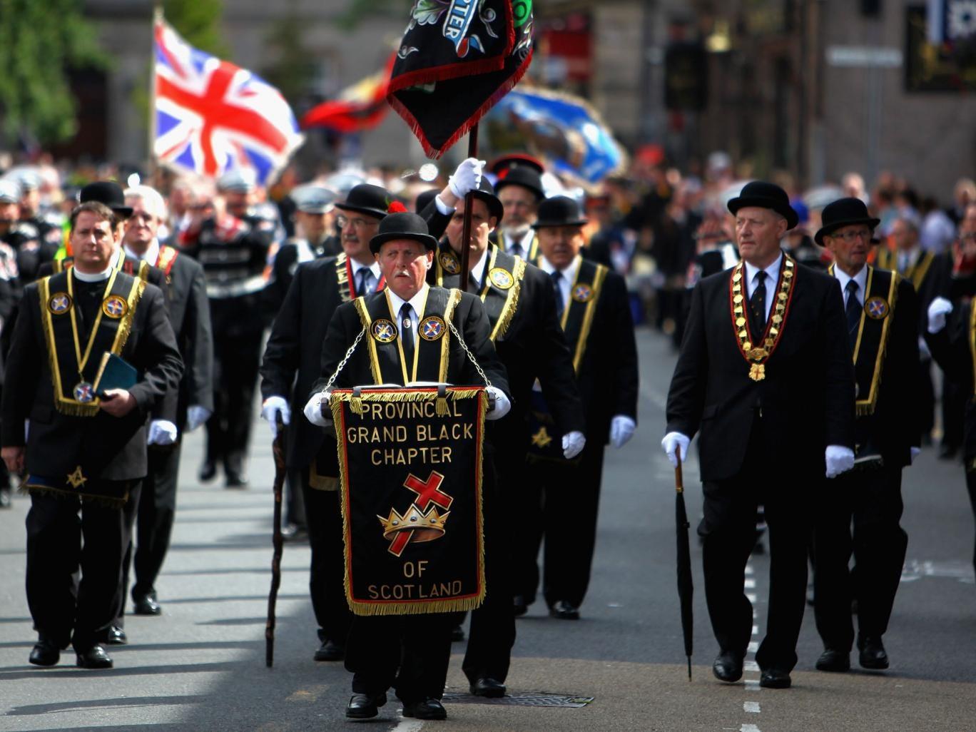 Grand Black Chapter of Scotland's Orange Order hopes 15,000 members will march in Edinburgh