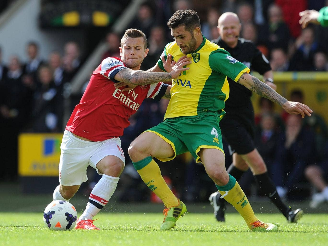 Fit again Jack WIlshere competes with Bradley Johnson